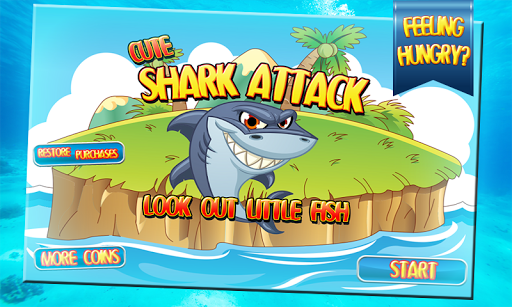 Hungry Shark Attack for Kids