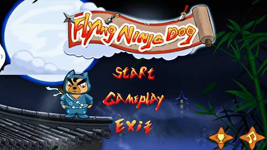 Flying Ninja Dog - screenshot thumbnail