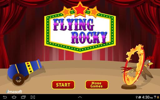 Flying Rocky Circus Challenge