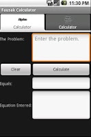 Screenshot of Fausak Calculator FREE!