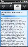 Screenshot of NiederschlagsRadar.de