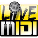 Karaoke Live MIDI Player icon