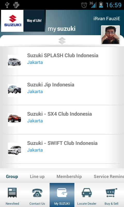 Suzuki Indonesia - screenshot