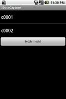 Screenshot of SMSMT Data Capture