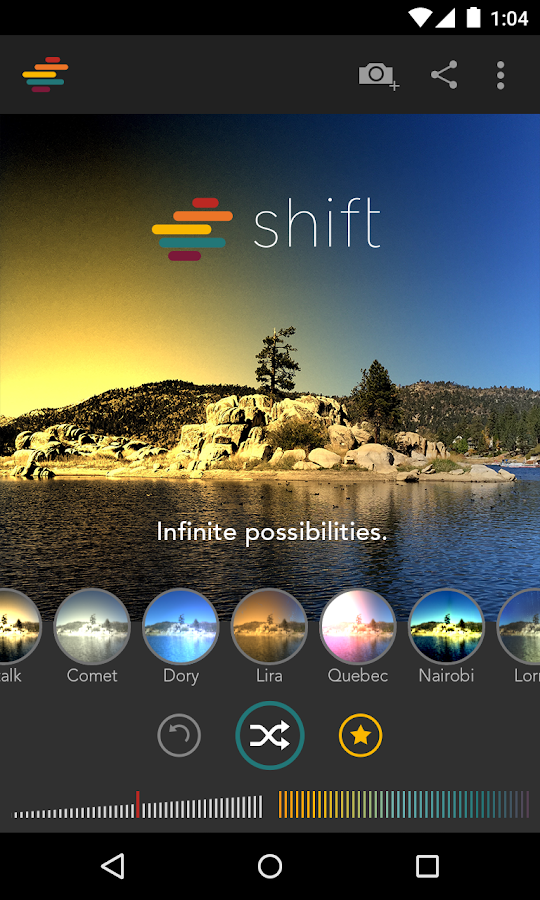 Shift- screenshot