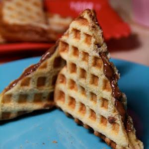 Express Nutella Waffle Brioche
