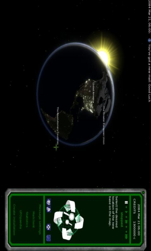 UFO: Alien Invasion - screenshot
