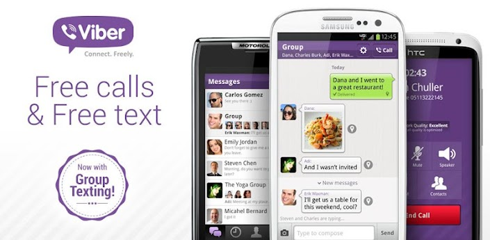 Viber 2.2.2. Apk Free Download