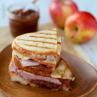 Ham & Apple Butter Panini