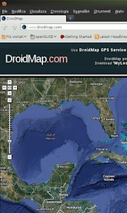 My Location on Facebook screenshot