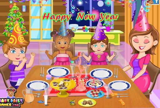 Baby Daisy New Year Party 1.2.0 screenshots 18