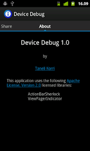 Device Debug- screenshot thumbnail