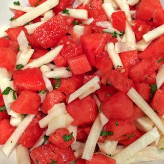 Watermelon and Jicama Salad Recipe
