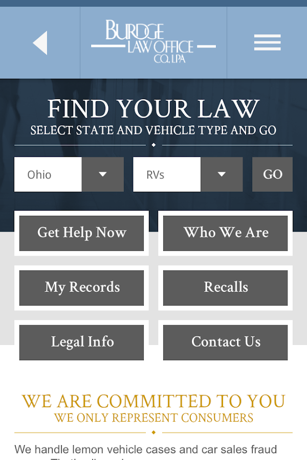ohio lemon law If you've been stuck with a lemon you may not need a lawyer before you talk to the car companies, sign any forms or hire an attorneyget this free book service required video.