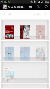 AHA eBook Reader - náhled