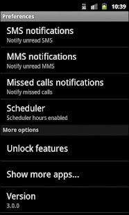 Phone notifier - screenshot thumbnail