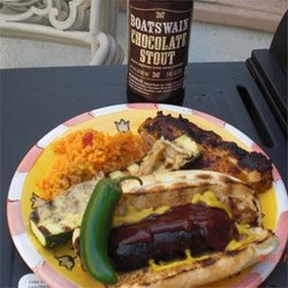 Barbeque Bratwursts