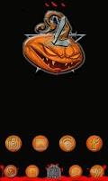 Screenshot of Halloween Evil Pumpkin Clock