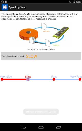 Speed Up Swap (root) 1.1-normal screenshots 4