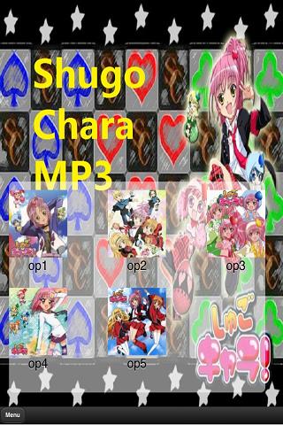 Shugo Chara Openings MP3