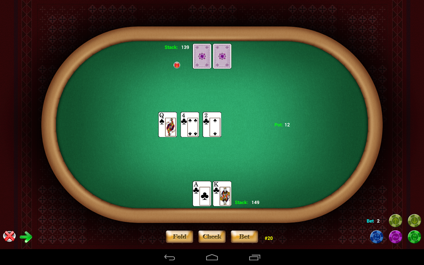 Texas Hold'em Poker - screenshot