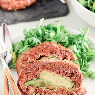 Avocado Stuffed Chorizo Meatloaf