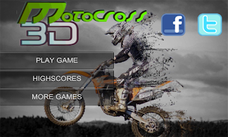 Screenshot of Motocross Extreme 3D