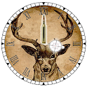 Clock Deer Hunting - Widget icon