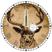 Clock Deer Hunting - Widget