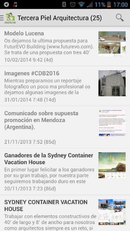 Containers Habitables: captura de pantalla