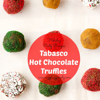Tabasco Hot Chocolate Truffles