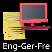Eng-Ger-Fre Offline Translator