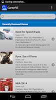 Screenshot of GameRE