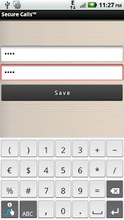 Password Protect For Calls - screenshot thumbnail