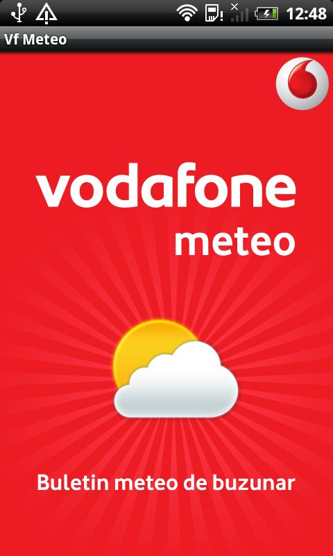Vodafone Meteo - screenshot