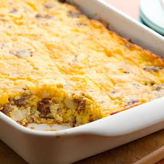 Breakfast Casserole With Hash Browns And Sour Cream Recipes.
