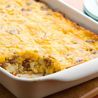 Hash Brown Breakfast Casserole.