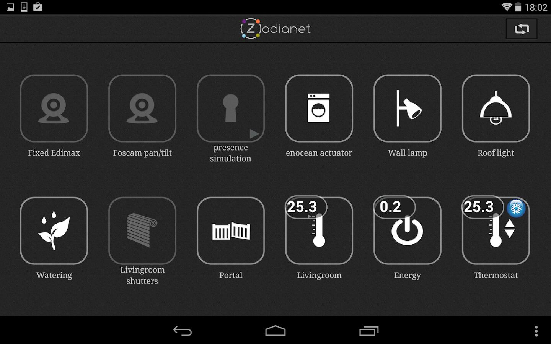 Zodianet HD - screenshot
