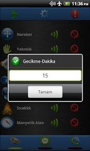 Güvenlik - Sensör Alarmı Free - screenshot thumbnail