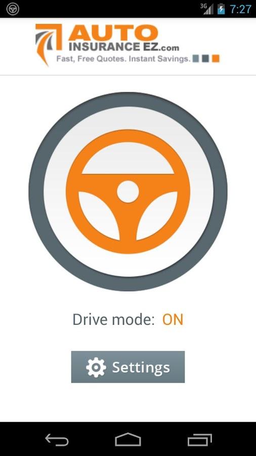 No Texting While Driving App - screenshot