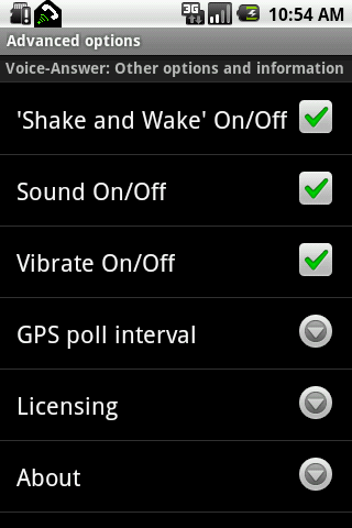 Voice-Answer FULL - screenshot