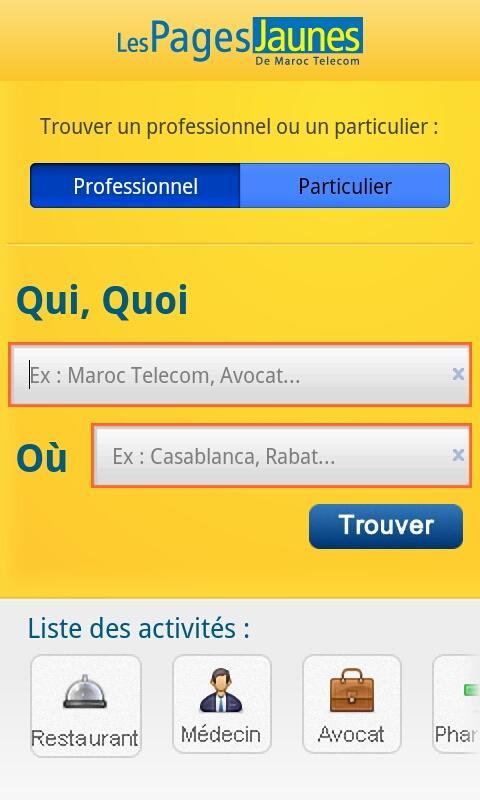 PJ Maroc– Capture d'écran