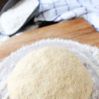 Easy Whole Wheat Pizza Dough