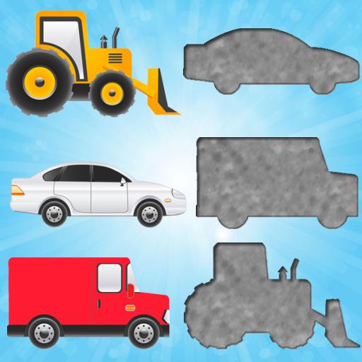 為幼兒的車輛拼圖 LOGO-APP點子