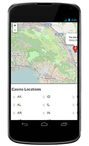 the Casino Locator