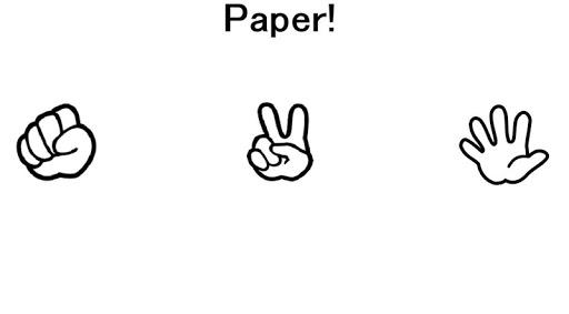玩免費模擬APP|下載Rock, Paper, Go! with sound app不用錢|硬是要APP
