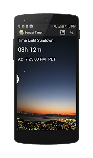 SunSet Alert™- screenshot thumbnail