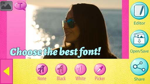 無料摄影Appの写真のキャプション 写真上のテキスト 記事Game