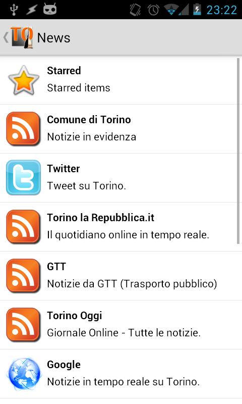 TOrino- screenshot