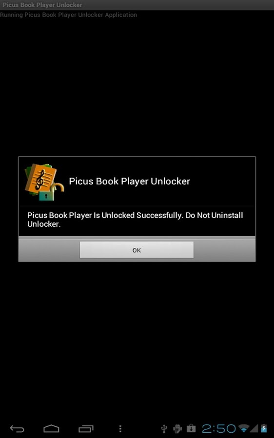 Picus Book Player Unlocker- screenshot